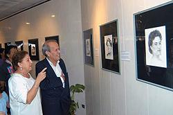 Inauguran exposición de Antonio Guerrero sobre heroínas cubanas